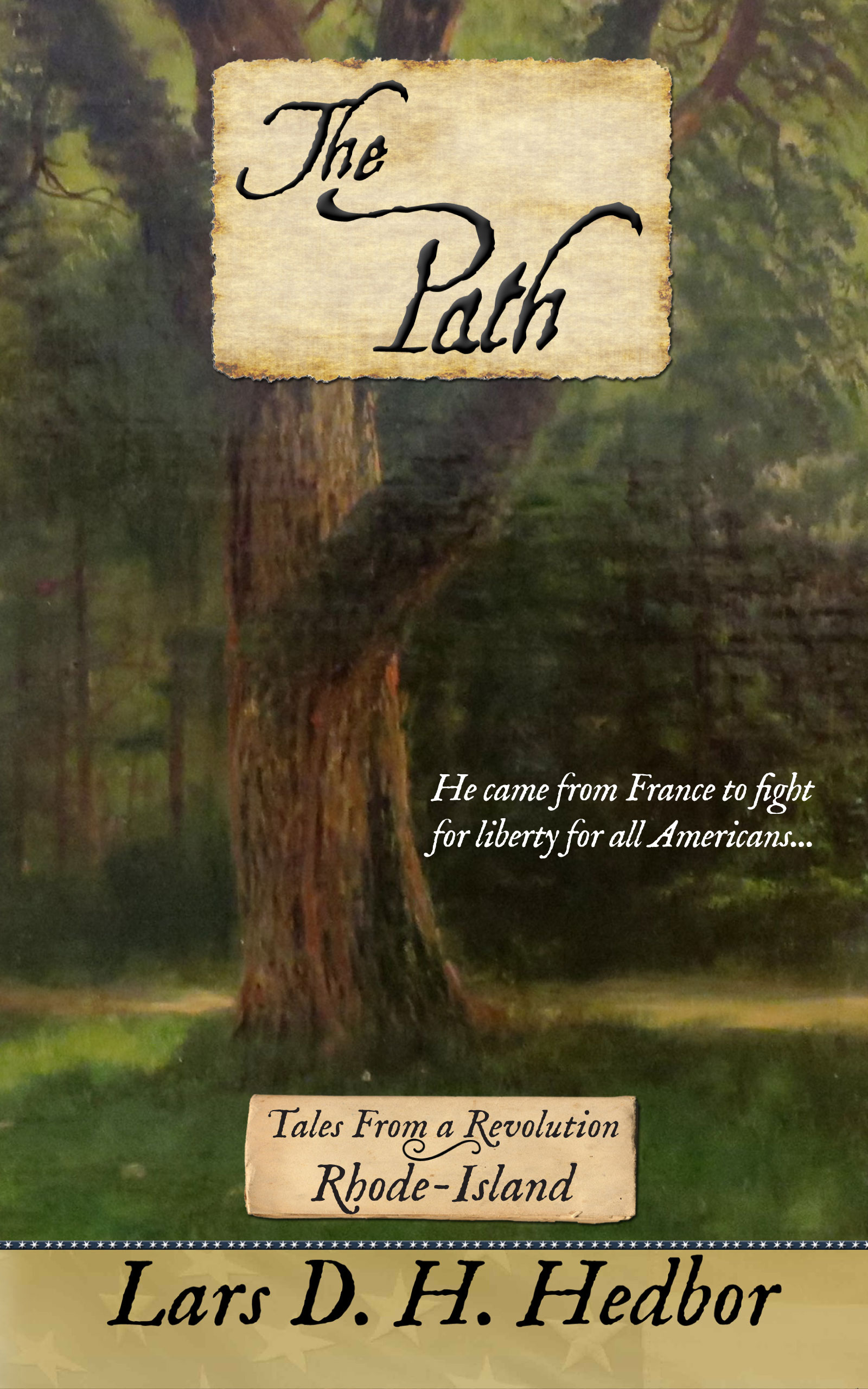 Cover image for The Path: Tales From a Revolution - Rhode-Island